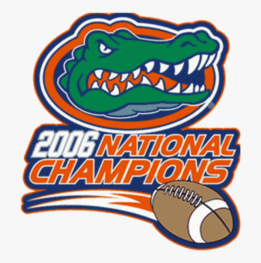 Florida Gators Iron On Stickers And Peel-off Decals - Florida Gators, HD Png Download, Free Download