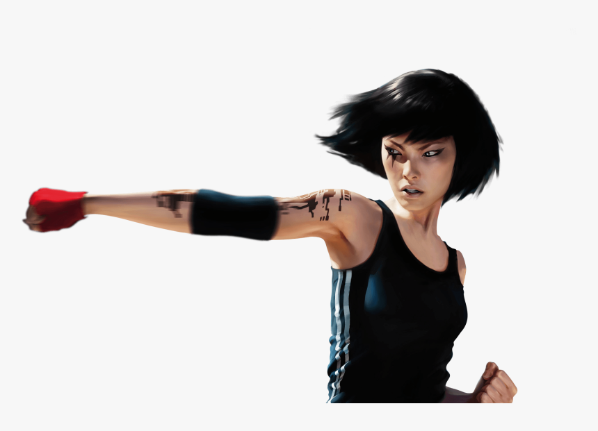 "Faith Connors Mirror""s Edge Png , Png Download - Faith Mirror's Edge Png, Transparent Png, Free Download"
