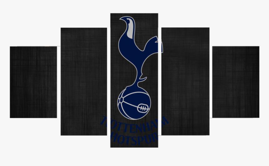 Hd Printed Tottenham Hotspur Logo 5 Pieces Canvas Monogatari Canvas Hd Png Download Kindpng