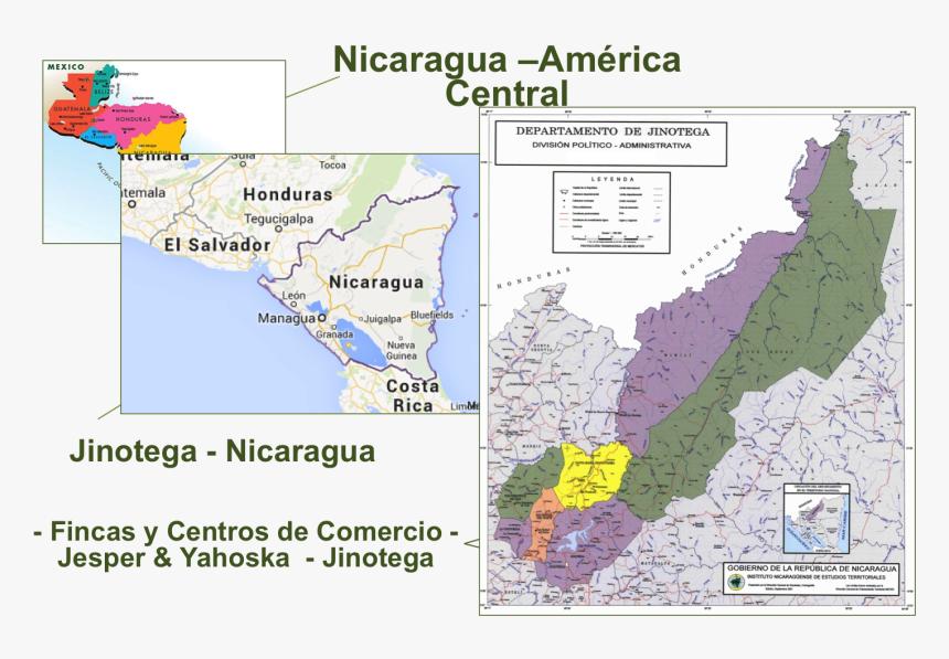 Mapa Politico De Jinotega , Png Download - Mapa Politico De Jinotega Nicaragua, Transparent Png, Free Download