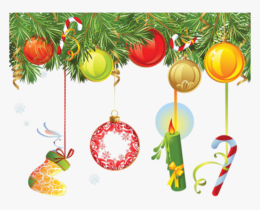 Border Designs For New Year, HD Png Download, Free Download