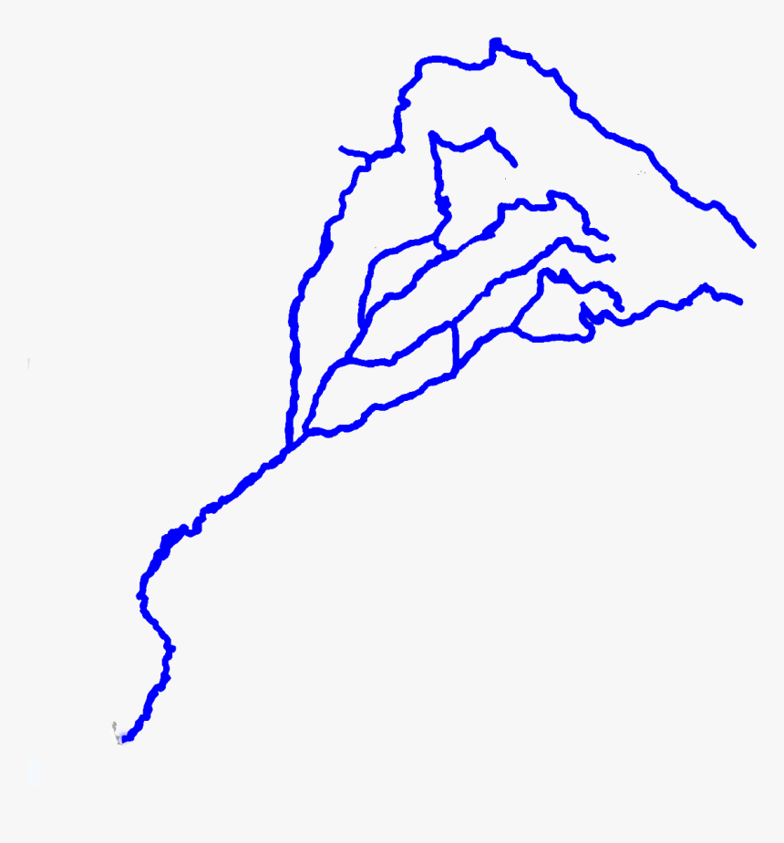 Kml Href, Http - River Map Of Pakistan, HD Png Download, Free Download