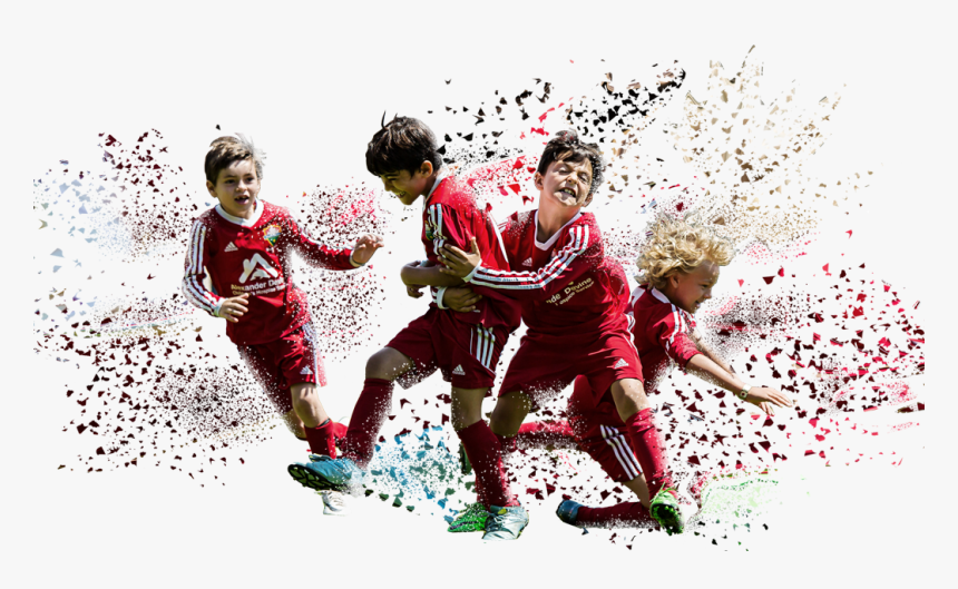 Transparent Kids Playing Soccer Png - Kick Up A Soccer Ball, Png Download, Free Download