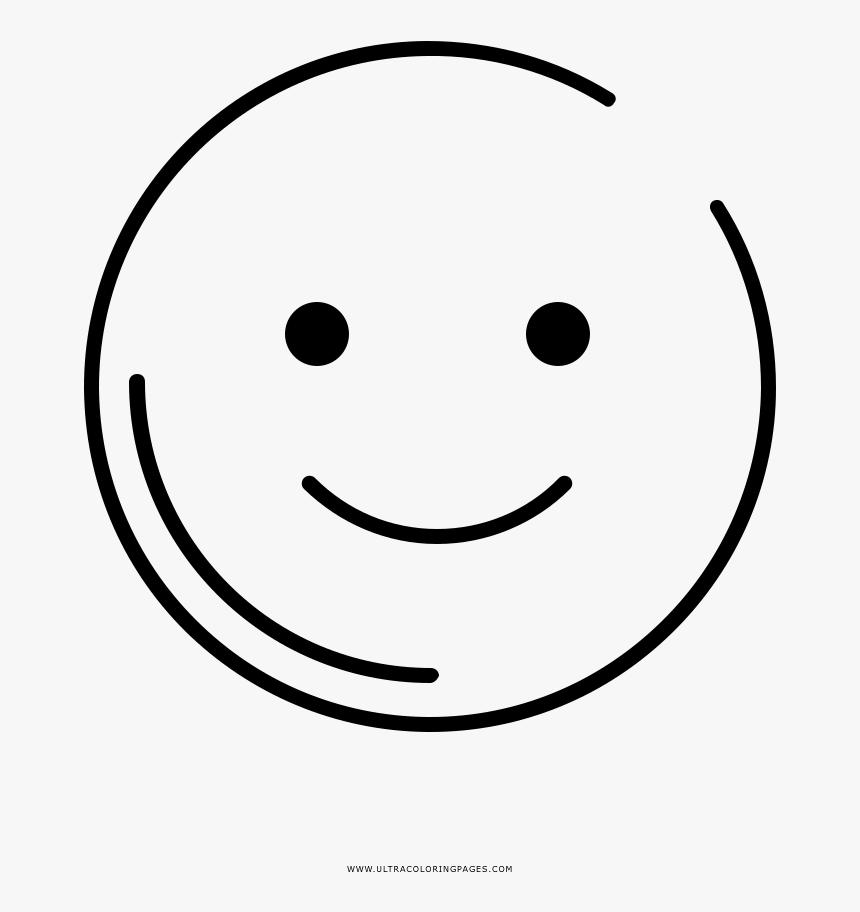 smile emoji coloring page, printable smile emoji coloring