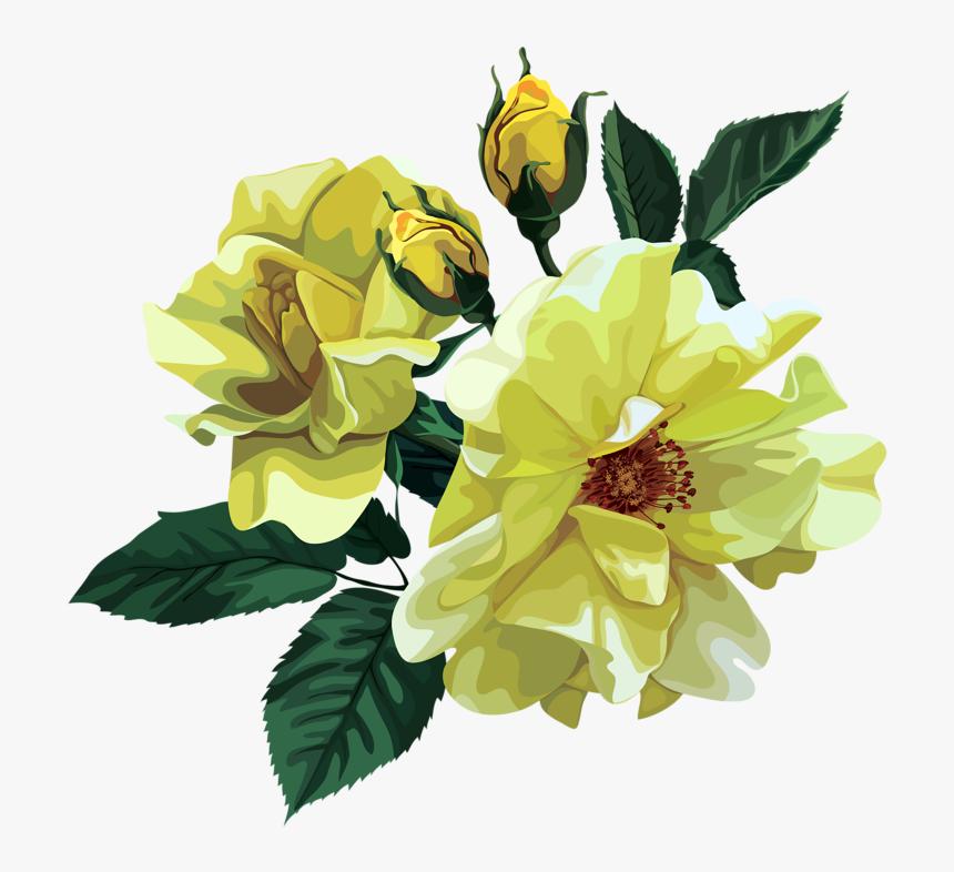 Rose Bouquet Cli̇part Transparent - Flower Bouquet, HD Png Download, Free Download