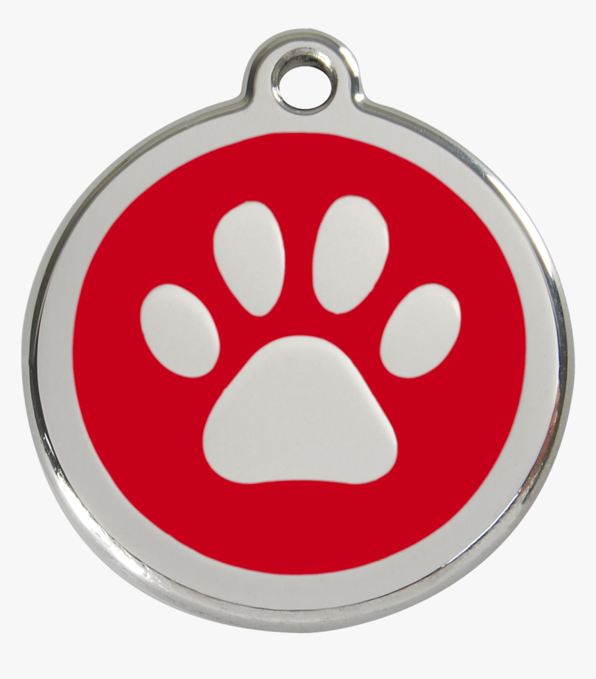 Paw Clipart Dog Collar - Pet Tag Qr Print, HD Png Download, Free Download