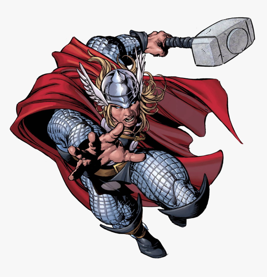 Character Profile Series Thor Marvel Super Heroes Clipart - Super Heroes Marvel Png, Transparent Png, Free Download