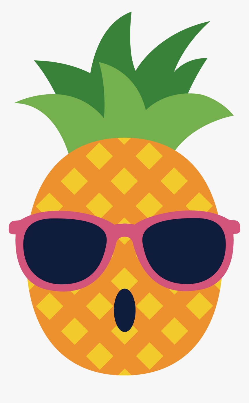 Vector Of Spectacles Glasses Pineapple Download Free - Pineapple With Sunglasses Png, Transparent Png, Free Download