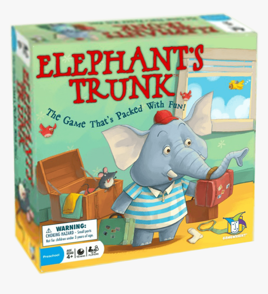 Transparent 3d Box Png - Elephant's Trunk Game, Png Download, Free Download