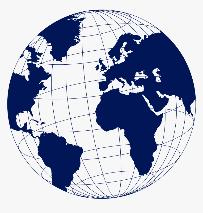 Globe World Map - World Travel Icon Png, Transparent Png ...