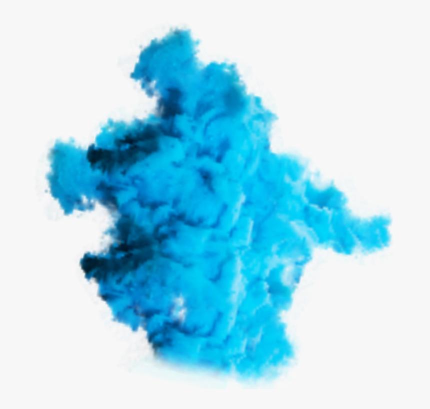 #color #colour #blue #bluecolor #smoke #cloud #clouds - Color Transparent Smoke Png, Png Download, Free Download