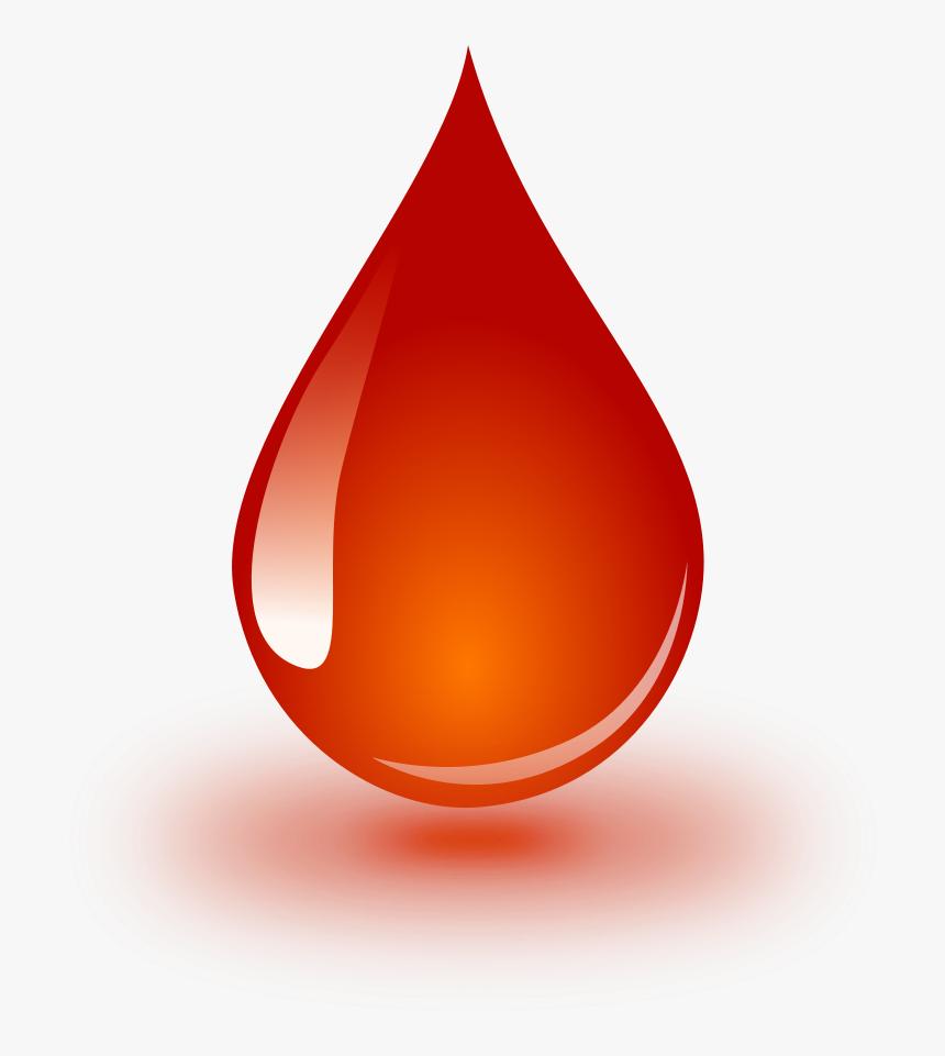 Blood Drop Cartoon Png - Blood Drop Clipart, Transparent Png, Free Download