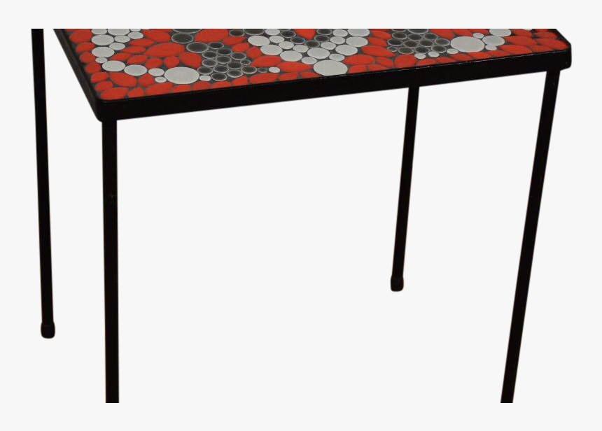 End Ange Table Bridge Small Diy Patio Tile Metal Monitor - Coffee Table, HD Png Download, Free Download