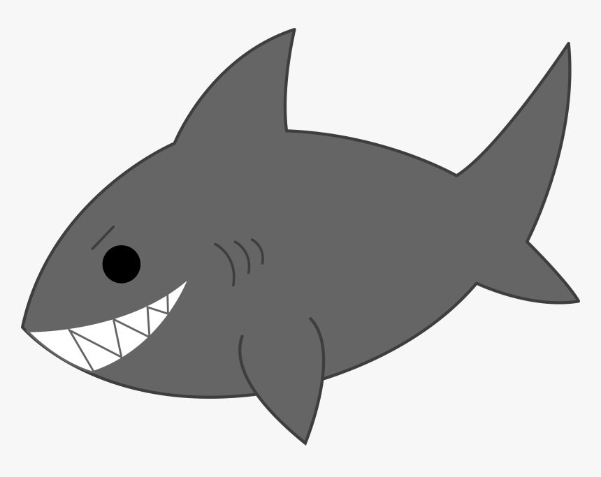 Shark Cartoon Image - Shark Clipart, HD Png Download, Free Download