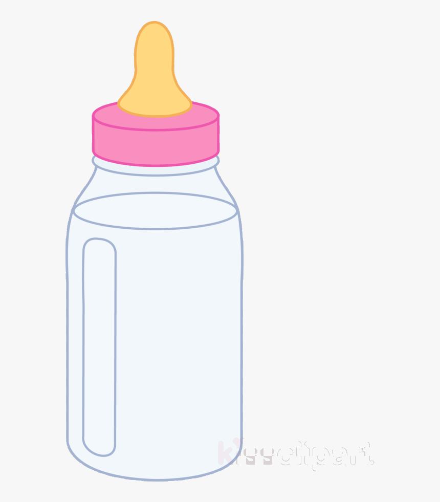 Baby Bottle Pink Clipart Bottles Infant Clip Art Transparent - Pink Baby Bottle Clipart, HD Png Download, Free Download
