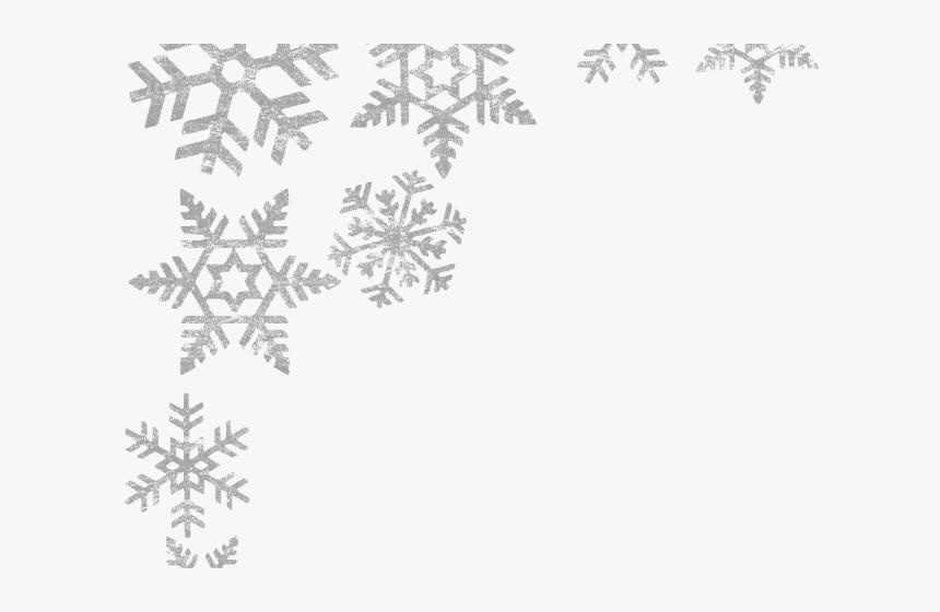 Transparent Snowflake Border Png Transparent - Border Snowflake Transparent Background, Png Download, Free Download