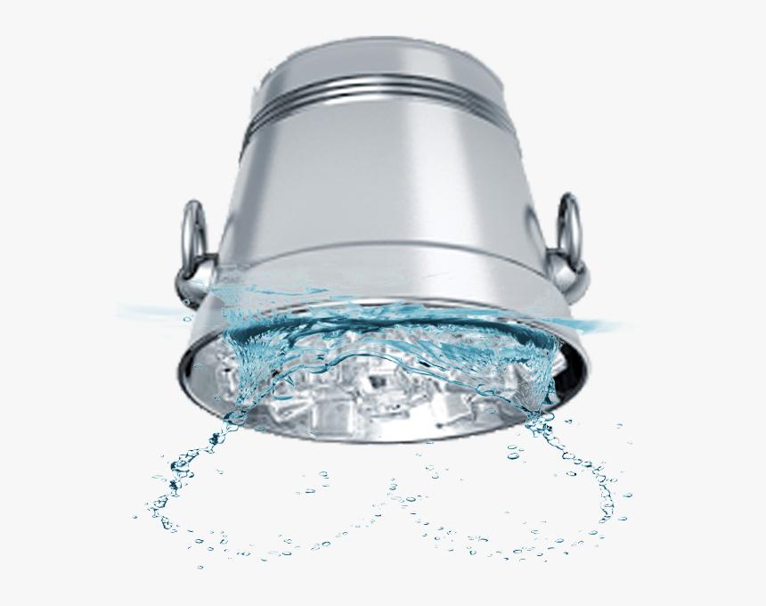 Ice Bucket Challenge - Transparent Bucket Of Water Png, Png Download, Free Download