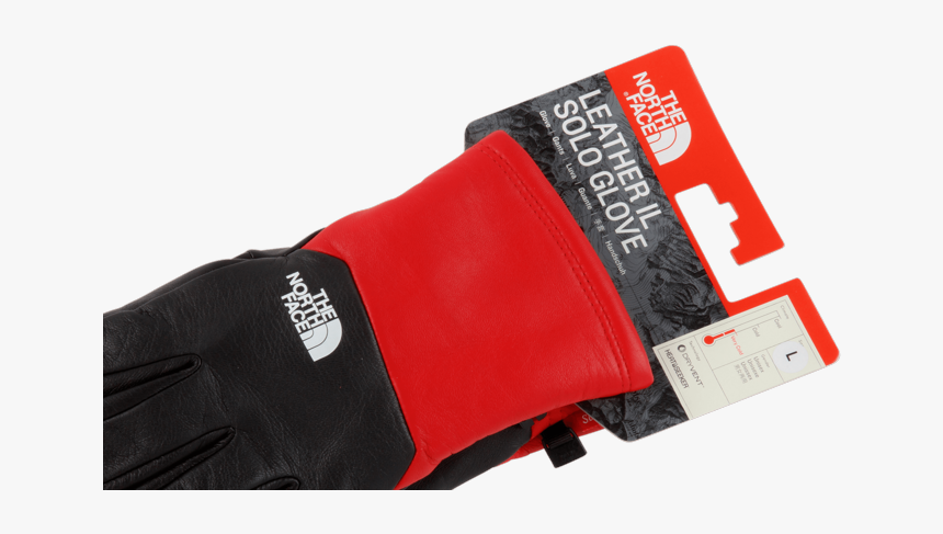 """Supreme Tnf Leather Glove """"fw - North Face, HD Png Download, Free Download"""