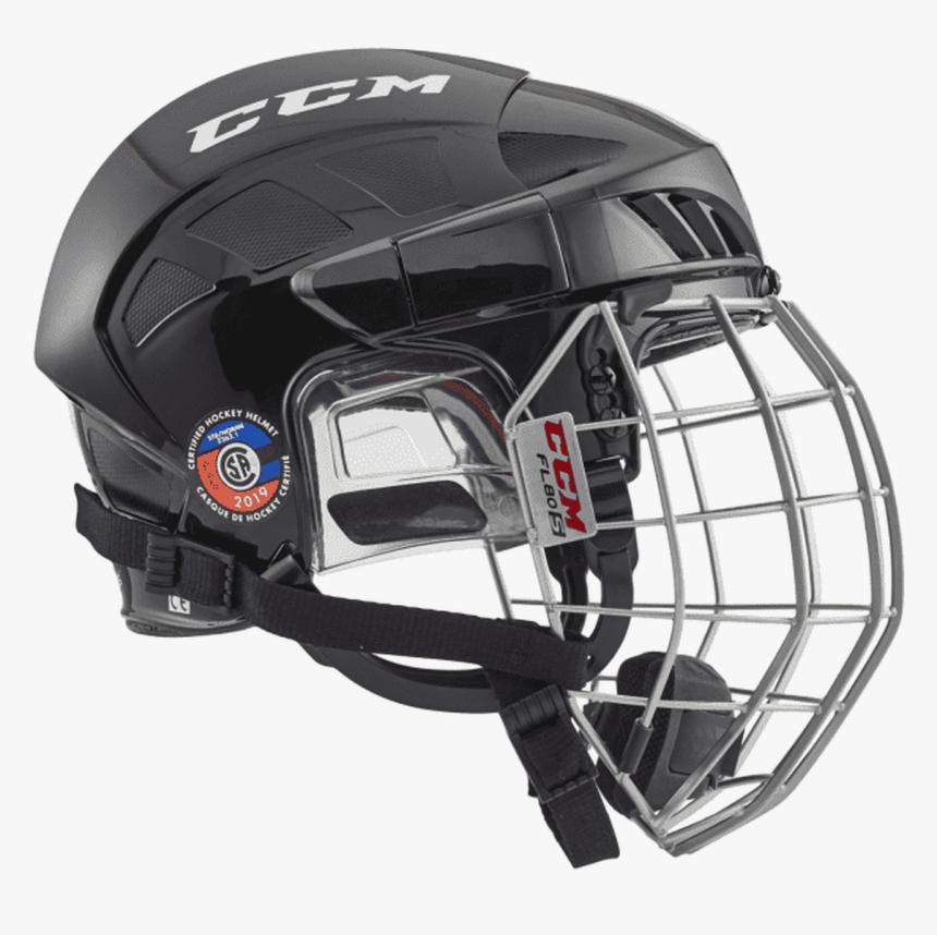 Ccm Fl60 Combo Hockey Helmet - Ccm Hockey Helmet, HD Png Download, Free Download