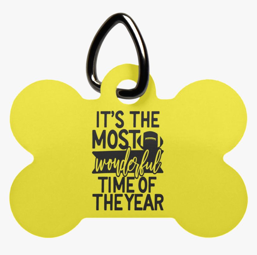 """It""""s The Most Wonderful Time Of The Year Dog Bone Pet - Keychain, HD Png Download, Free Download"""