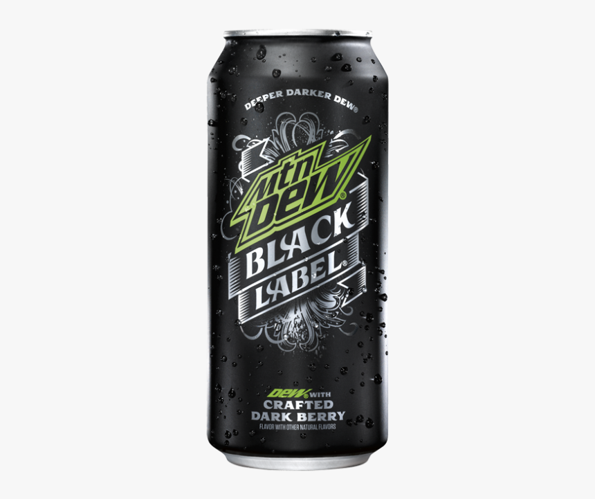 """Mountain Dew Black Label Crafted Dark Berry """"  Title=""""mountain - Mountain Dew Brew, HD Png Download, Free Download"""