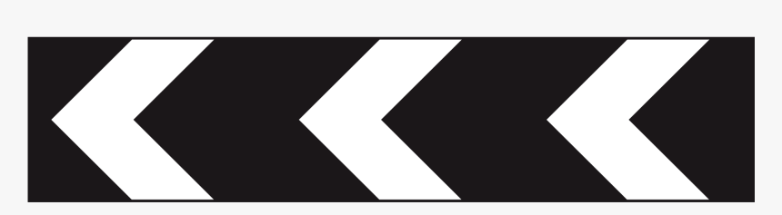 Road Svg Black And White - Road Signs Black And White Arrows, HD Png Download, Free Download