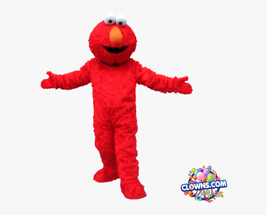 Elmo Character For Kids Party Ny Birthday Party Characters - Elmo Birthday Mascot, HD Png Download, Free Download