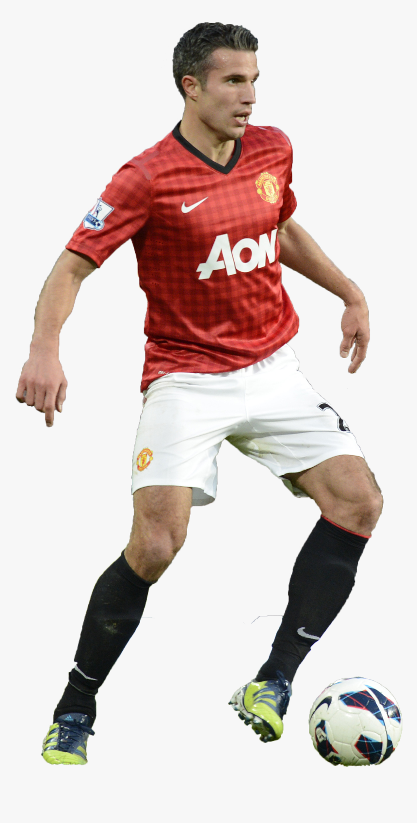Robin Van Persie Png Man Utd - Cr7 Manchester United Png, Transparent Png, Free Download