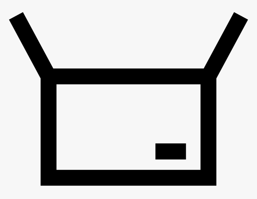 Package Box - Vector Icon Opened Box Png, Transparent Png, Free Download