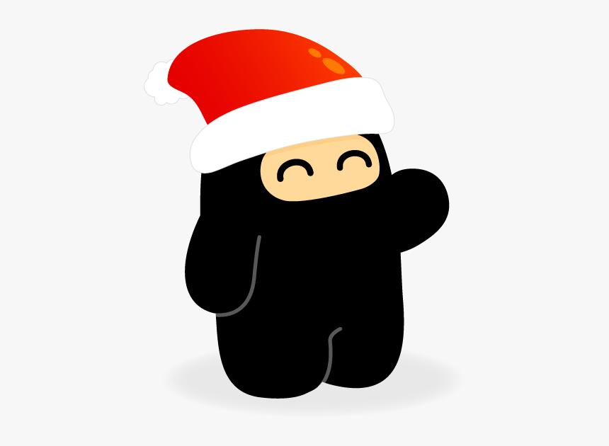 [img] - Ninja Santa Clipart, HD Png Download, Free Download