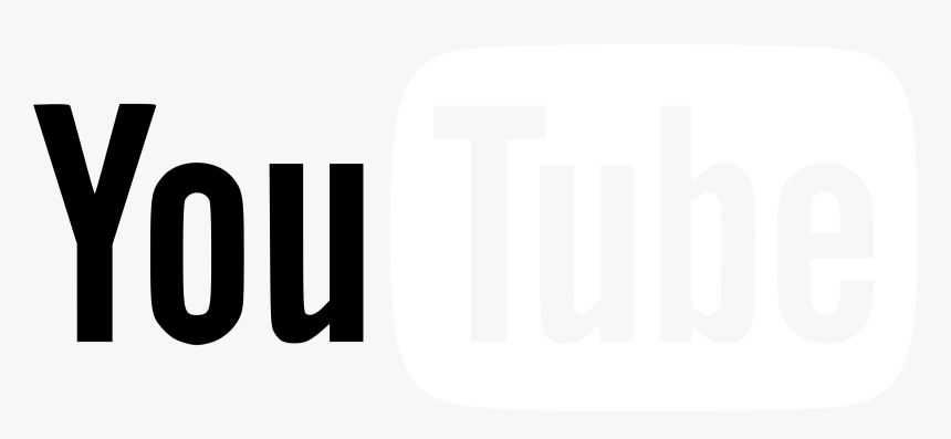 White Youtube Logo Png, Transparent Png, Free Download