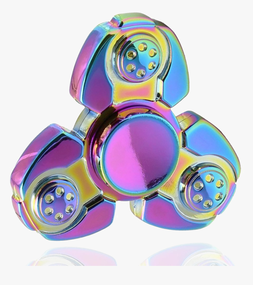Rainbow Fidget Spinner Free Png Image, Transparent Png, Free Download