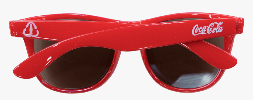Coca-cola Recycled Bottle Script Sunglasses Red, HD Png Download, Free Download