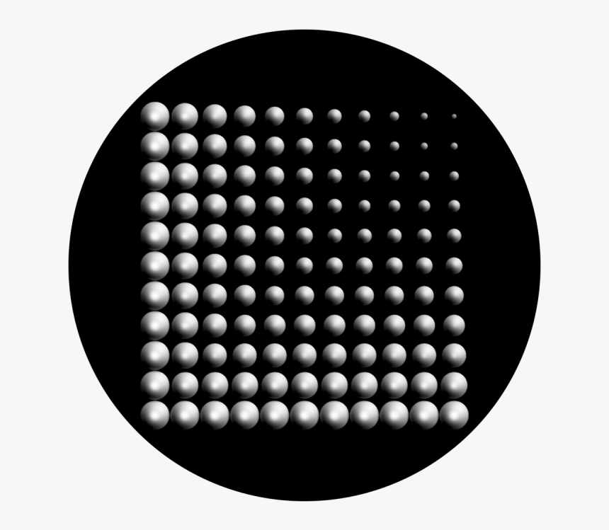 Black Circle Fade Png, Transparent Png, Free Download