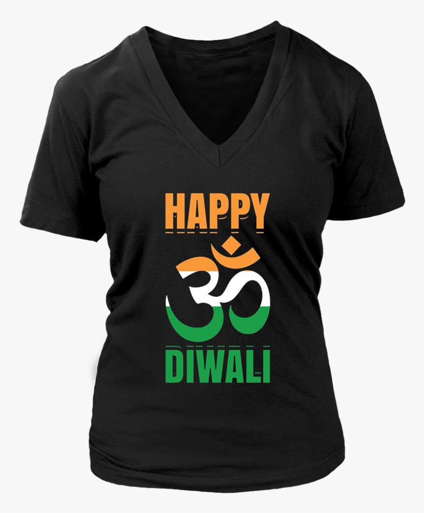 Happy Diwali Shirt Deepavali T-shirt Festival Of Lights, HD Png Download, Free Download