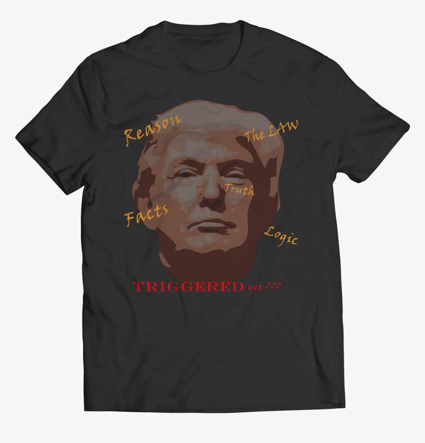 New Triggered Trump Face Colored Text, HD Png Download, Free Download