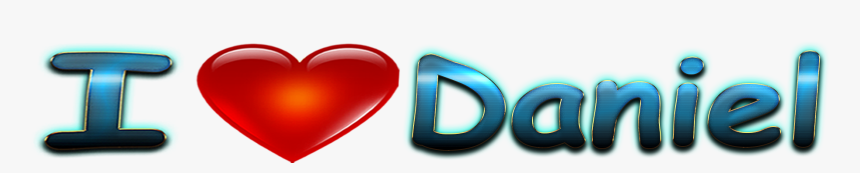 Daniel Love Name Heart Design Png, Transparent Png, Free Download