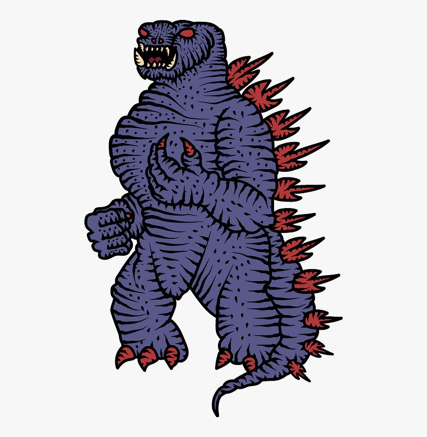 Godzilla Clipart, HD Png Download, Free Download