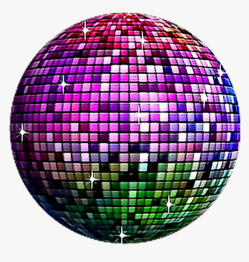 #freetoedit #rainbow #disco #ball, HD Png Download, Free Download