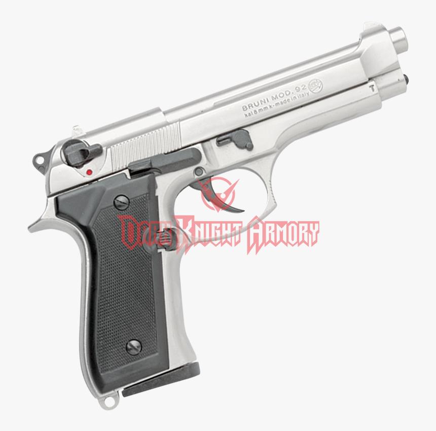 Semi-auto Blank Firing Nickel M92 Pistol, HD Png Download, Free Download