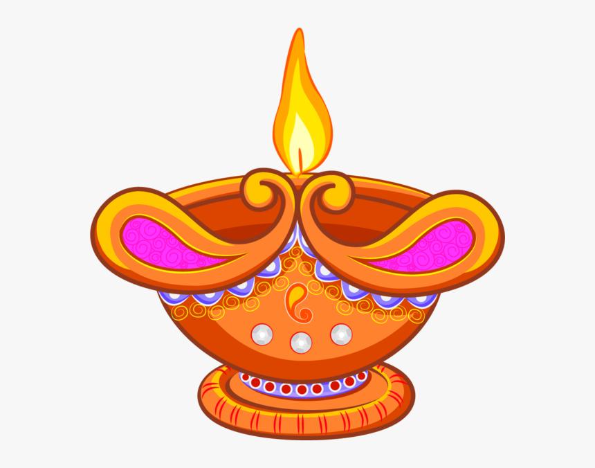 Transparent Light Lamp Diwali Food Orange For Diwali, HD Png Download, Free Download