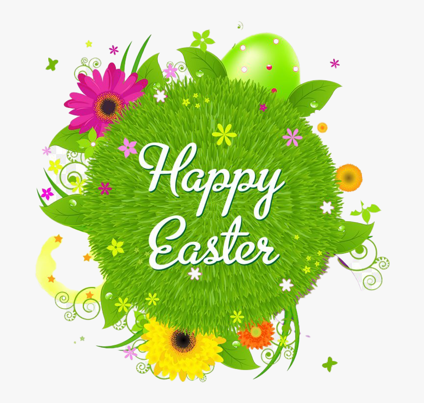 Happy Easter Logo Word Png Hd, Transparent Png, Free Download