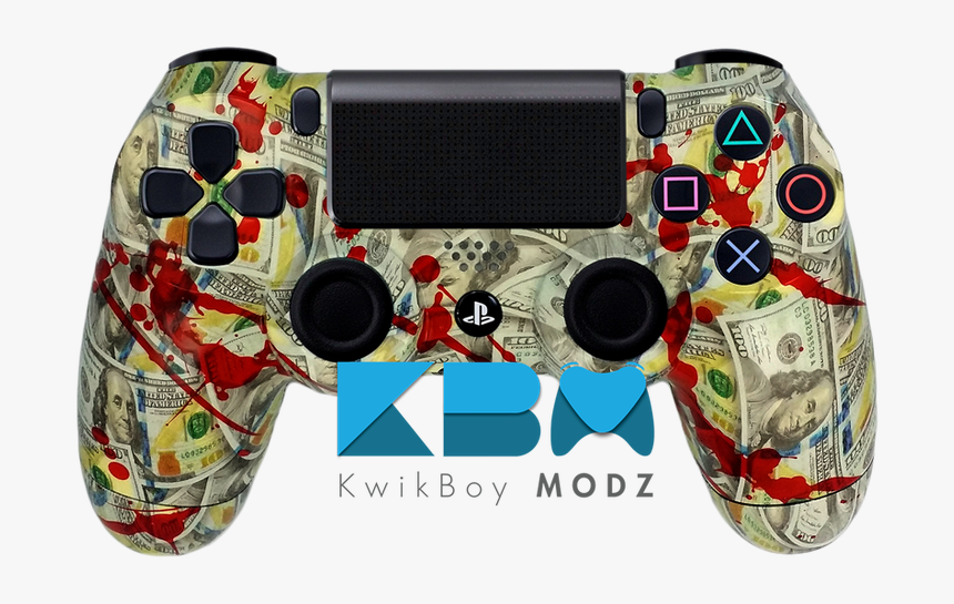 Blood Money Custom Ps4 Controller, HD Png Download, Free Download