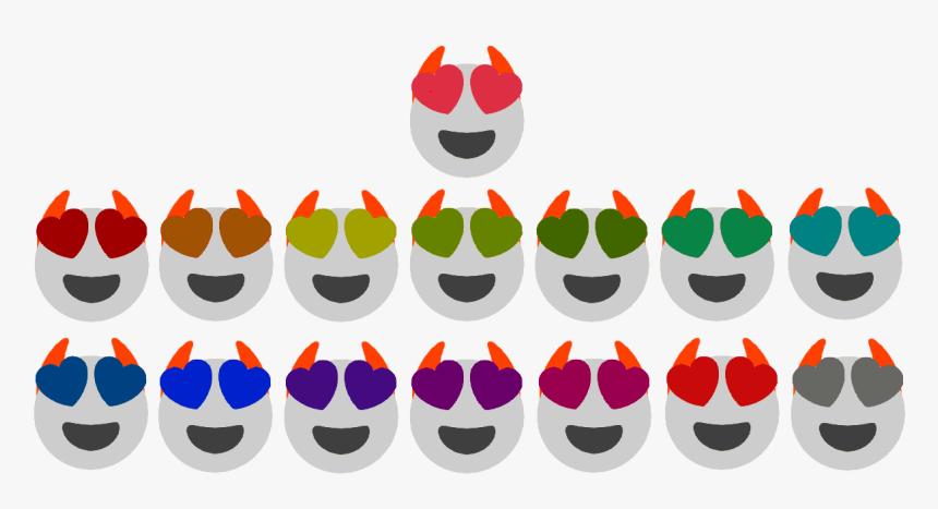 Heart Eyes Emoji Png, Transparent Png, Free Download