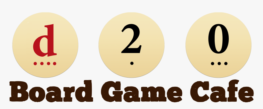 D20 Board Game Cafe, HD Png Download, Free Download