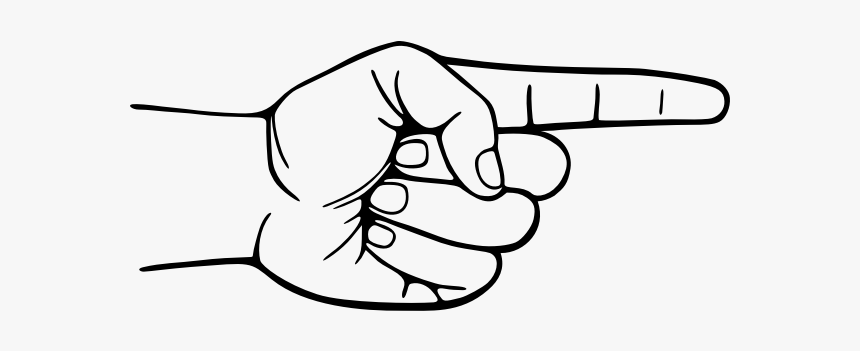 My Pointing Finger, HD Png Download, Free Download