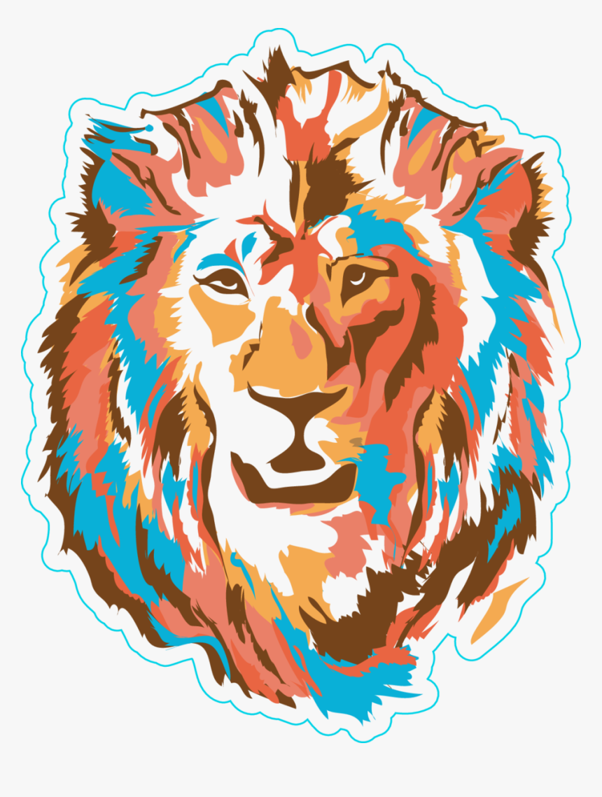 Transparent Lion Face Clipart, HD Png Download, Free Download