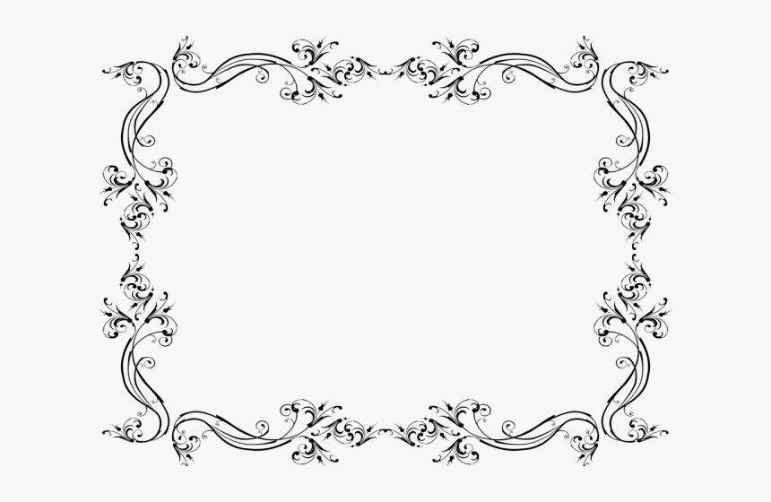 Fancy Wedding Border Png Transparent Images, Png Download, Free Download