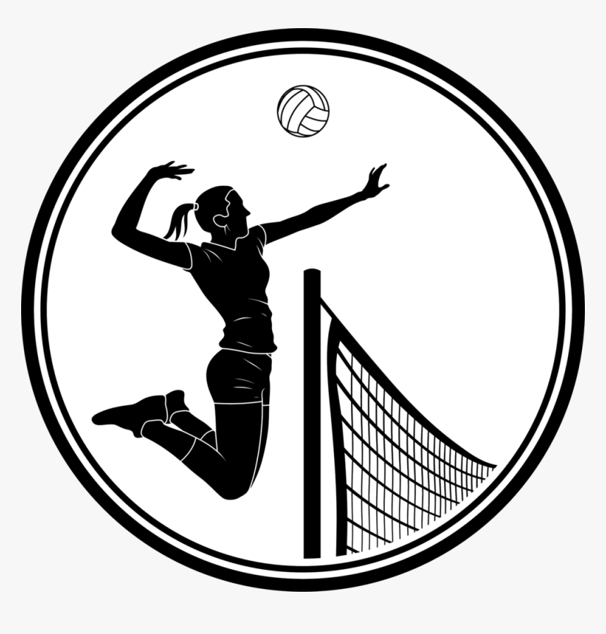 Volleyball Clipart Clear Background - Transparent Background Png Volleyball  , Transparent Cartoon - Jing.fm