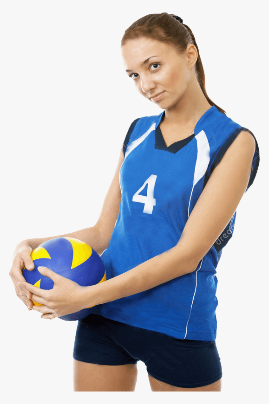 Download For Free Volleyball Icon Png - Female Volley Player Png, Transparent Png, Free Download